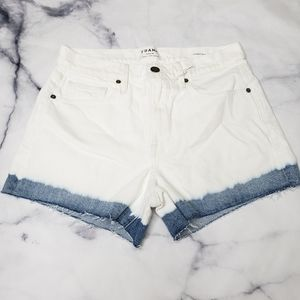 NWT Frame Denim Le Brigette Streamside shorts